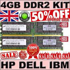 4GB PC2-3200R ECC (2x 2GB) Dell Poweredge 6850 SC1420 SC1425   equiv. 345114-851