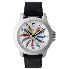 #00093 WORLD TIME WRIST WATCH USE ANYWHERE COUNTRY, JAPAN MOV'T