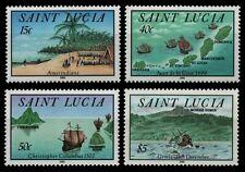St. Lucia 1992 - Mi-Nr. 1003-1006 ** - MNH - Schiffe / Ships