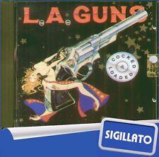 """L.A. GUNS """" COCKED & LOADED """" CD SIGILLATO 1989 VERTIGO - PHONOGRAM"""