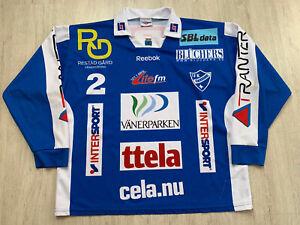 IFK Vänersborg Bandy Hockey Ball Match Worn Shirt Jersey XL Pro Touch #2 ROING