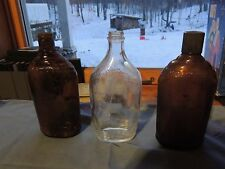 lot of 3 Ball liquor bottles vintage 1933-1962