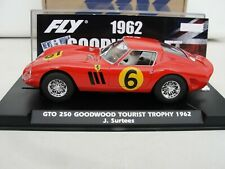 FLY FERRARI 250 GTO 'GOODWOOD TOURIST TROPHY' RED  #6  FLYE2032  1.32 SLOT  BNIB