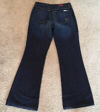 David Kahn Wide Leg Flare Stretch Size 28 Jeans Women Nordstrom New