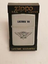 1999 laconia roadhouse tour camel zippo lighter