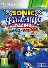 Sonic & Sega All Stars Racing Banjo Kazooie Xbox 360 Game New & Sealed Free P&P