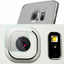 Tempered Glass Back Camera Lens & Flash Protector Film for Samsung S6 S7 edge+