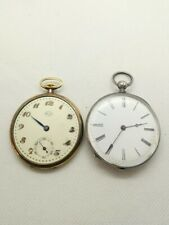 LOT 2 GOUSSET POCKET WATCH ARIS SWISS ET OTTOMAN POCKET WATCH 1900 VINTAGE