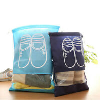 10 Pcs Portable Shoes Organizer Storage Drawstring Bags Cover Waterproof Travel