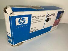 Genuine HP 501A Q6470A Black Toner Print Cartridge CP3505 3600 3800 SEALED NEW