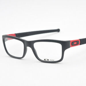 Eyeglass Frames-Oakley MARSHAL OX8034-0951 Black/Ferari Red 51mm Glasses Frame