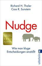 Nudge von Richard H. Thaler und Cass R. Sunstein (2010, Taschenbuch), UNGELESEN