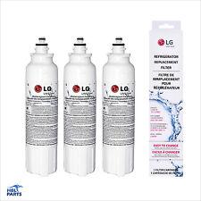 3 x Genuine OEM LG LT800P ADQ73613401 Replacement Fridge Water Filter