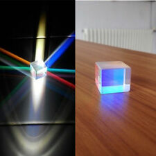 2pcs 25mm dichroic cube Defective Optical Glass Prism Teaching/DIY Decoration