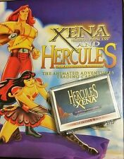XENA * & HERCULES* ANIMATED * TRADING CARD BASE SET RITTENHOUSE MINT!!