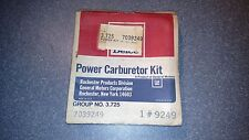 Delco 1973 Chevrolet Power Carburetor Rebuild Kit NOS Part # 7039249