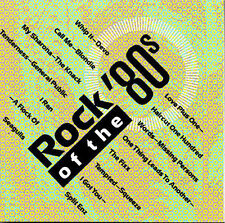 Rock of the 80's, Vol. 1 by Various Artists (CD, Jul-1990, Priority Records)