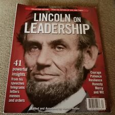 LINCOLN ON LEADERSHIP COLLECTORS EDITION WINTER 2013 41 POWERFUL INSIGHTS