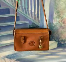 Beautiful Vintage Brown Pebbled Leather Dooney & Bourke Shoulder Bag W/Wallet