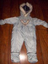 AVIREX Snow Suit One Piece Size 12 Month detachable boots & mittens