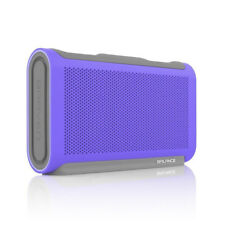 BRAVEN BALANCE Portable Wireless Bluetooth Speaker Waterproof, Purple (18Hr)