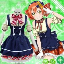 Anime Love Live! Cute Hoshizora Rin Cosplay Costumes Lolita Party Dress Outfit
