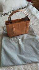 Christian Dior Luxus Tasche Beige Gold Lackleder Medium 30/23/10 Malice perlen
