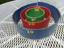 OLD ARCADE GAME BEAN BAG TOSS 1950s SEASIDE NJ  ASBURY PARK NJ CONEY ISLAND NY