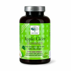 New Nordic Apple Cider Gummies 60 Gummies-Reduced Exp. 09/21