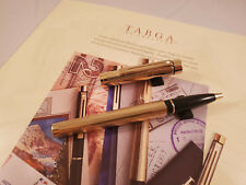 Sheaffer Targa Gold Plated Fluted 1005 Rollerball - New Old Stock