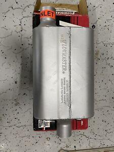 "Flowmaster Muffler 942441; 40 Series Delta Flow 2.25"" Offset 2.25"" Center"