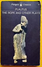 The Rope and Other Plays by Plautus FREE AUS POST Penguin Classics 1964 Used PB