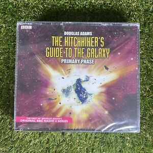 The Hitchhikers Guide to the Galaxy - Primary Phase - BBC Audio CD Book - New