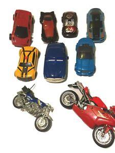 Toy Cars and Bikes, 9, Hotwheels, Disney, Ducati, Transformers, Hudson Hornet