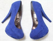 Dress Shoes Blue Heels Work Career Solid Six 6 Forever 21  WoMen's Choice Woman