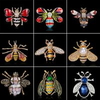 Women Men Animal Honey Bee Brooch Pin Lapel Broach Jewellery Family Party Gift