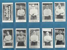 Jones Bros cigarette cards - TOTTENHAM FOOTBALLERS - Full mint condition set.