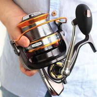 725g LJ9000 13+1 BB Spinning Reel Long-distance Line Wheel Fishing Tackle
