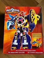 Power Rangers Ninja Storm DX Power Megazord Cyclone Force Deluxe RARE MINT
