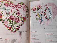 Creation Point de Croix ,56,Veronique Enginger,viele Herzen,Lilli Violette,Küche