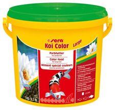SERA KOI COLOR LARGE 3.8 L 1 kg CARPE KOI OLTRE 25 CM LAGHETTO MANGIME SPECIALE