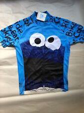 Cookie Monster Cycling Jersey - Sesame Street-Medium - New