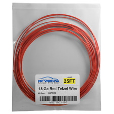 Cross Linked Automotive Aircraft Race Car Tefzel Wire 18 Ga Red Harley  Nascar