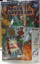 MARVEL HEROES: POKER CON I SUPEREROI  Ed. PANINI COMICS SCONTO 30%