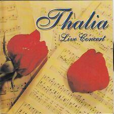 THALIA  - LIVE CONCERT - CD  RARE/NEW   FREE 1ST CLASS SHIPPING!!!!!!