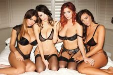 HOT SEXY PHOTO A4 Holly Peers Stacey Poole Danielle Sharp Lucy Collett (8x12)