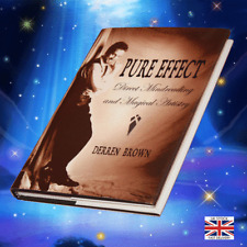 Magic PURE EFFECT By Derren Brown: Rare Mindreading & Magical Artistry - Scarce