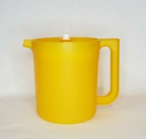 Tupperware Go Between Pitcher 1.5 Qt. Yellow NEW Free Shipping!