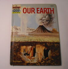 The How and Why Wonder Book of Our Earth, Deluxe Edition, Hardcover, 1960