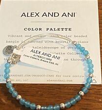 NEW Alex and Ani COLOR PALETTE, Color Classics Breeze Glass Accent Bracelet